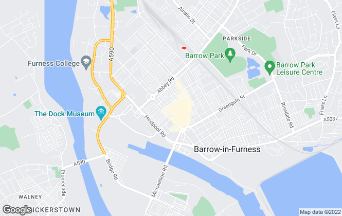 Map for #Ross Estate Agencies, Barrow In Furness