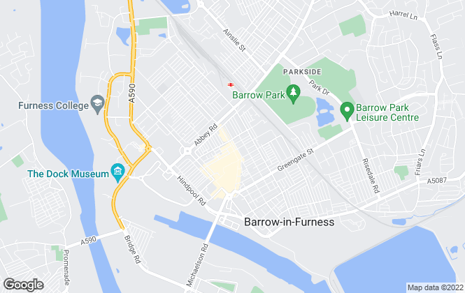 Map for Cumberland Estate Agents Ltd, Barrow-In-Furness