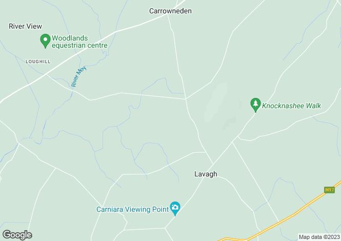 Map for Carrowmore, Lavagh, Co. Sligo , Achonry, Sligo