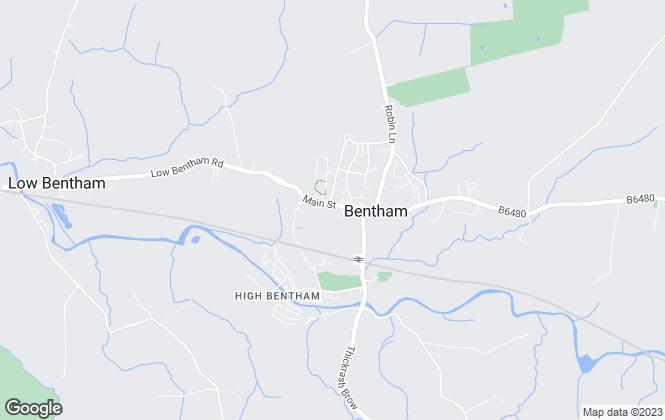 Map for Fisher Hopper, Bentham