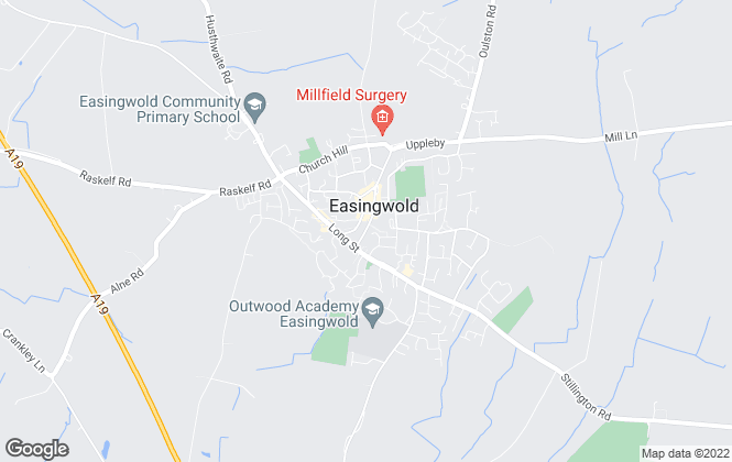 Map for Williamsons, Easingwold