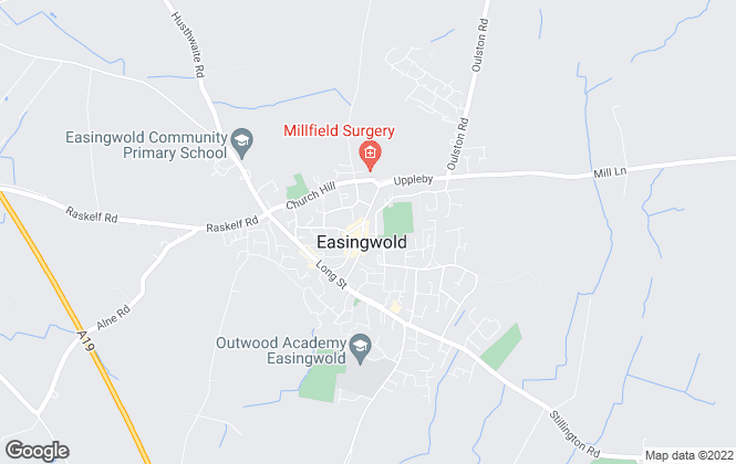 Map for Hunters , Easingwold - Lettings