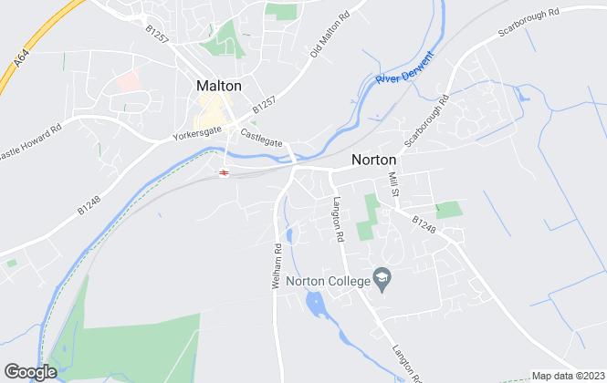 Map for Lisa Crowe Estate Agents, Malton