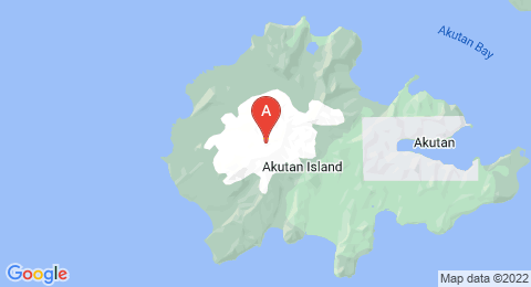 map of Mount Akutan (United States of America)