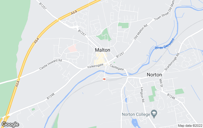 Map for Hunters, Malton
