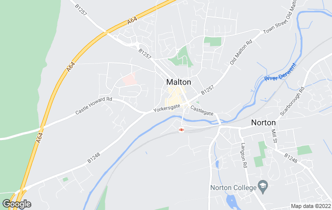 Map for Willowgreen Estate Agents, Malton