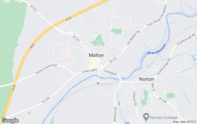 Map for Bulmers Letting, Malton