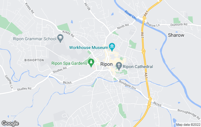 Map for Hunters, Ripon
