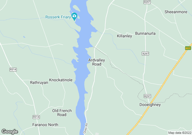 Map for Iceford, Quay Road, Ballina, Co Mayo