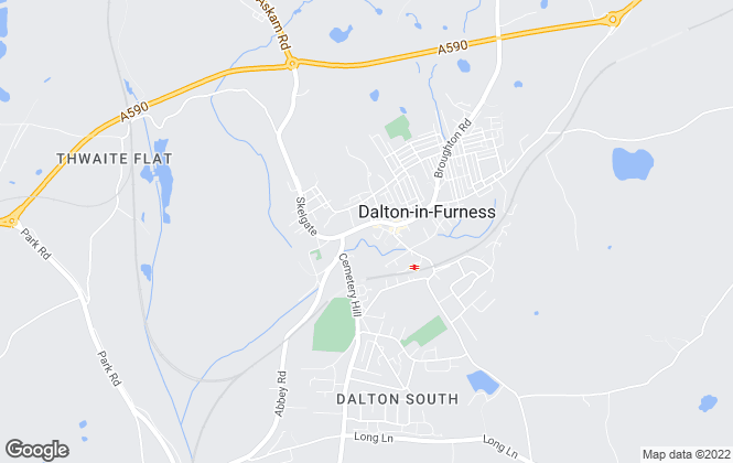 Map for Poole Townsend, Dalton In Furness