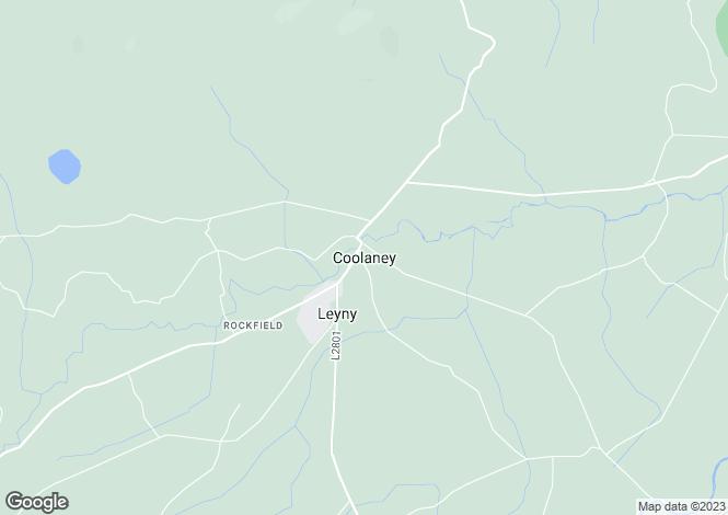 Map for Carha, Carrowneaden, Coolaney, Co. Sligo