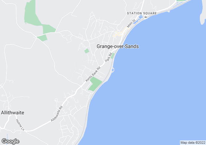 Map for Holmecroft, Thornfield Rd, Grange over Sands