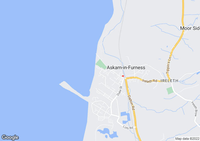 Map for Marsh Street, Askam-In-Furness, Cumbria