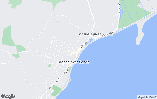 Map for Hackney & Leigh, Grange Over Sands