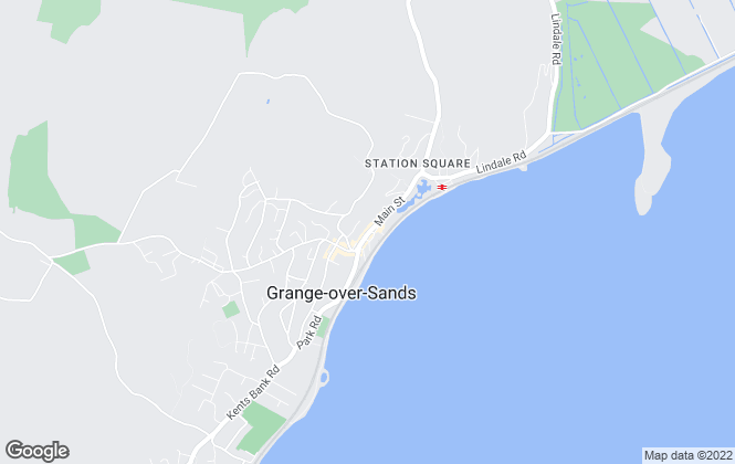 Map for Michael C L Hodgson, Grange-over-sands