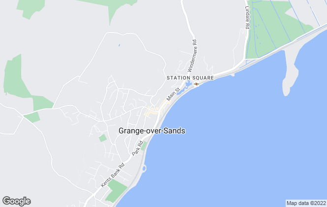 Map for Your Move , Grange-Over-Sands
