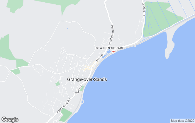 Map for Poole Townsend, Grange Over Sands