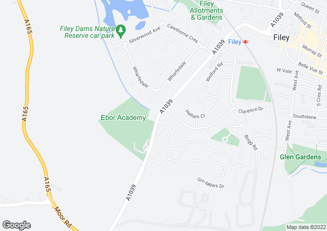 Map for 'Torshavn'  Muston Road, Filey