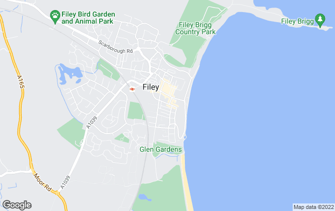 Map for DMA, Filey