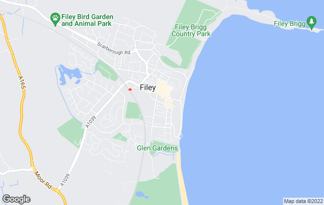 Map for Nicholsons Yorkshire Coast Estate Agents, Filey