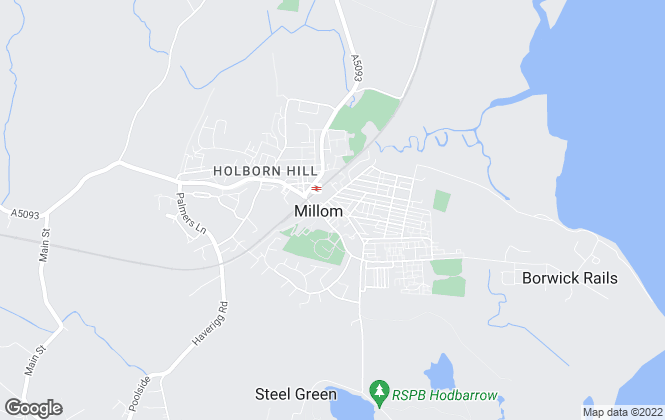 Map for Corrie and Co Ltd, Millom