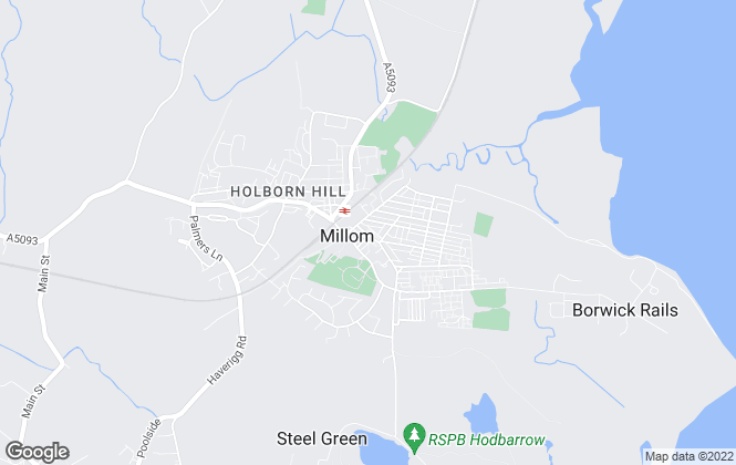 Map for YOUR MOVE Lettings, Millom