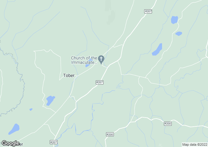 Map for Dowra, Cavan