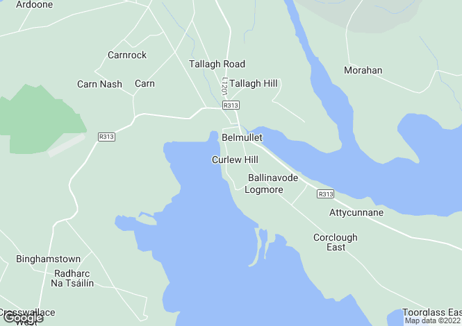 Map for 11 Achill View, Belmullet, Mayo