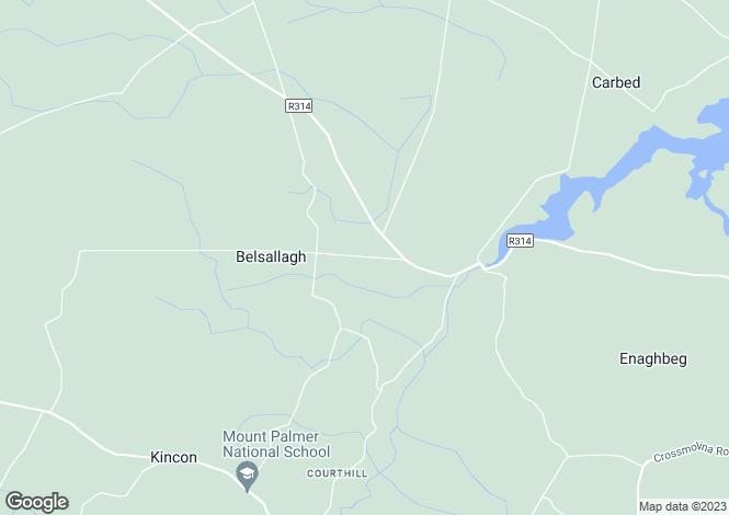 Map for Rathbawn, Killala, Co Mayo