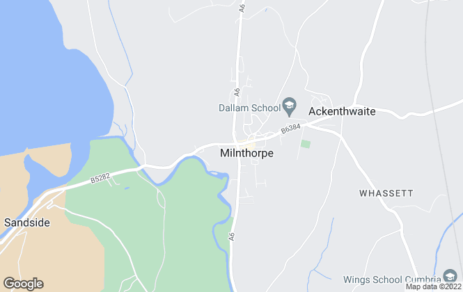 Map for Poole Townsend, Milnthorpe