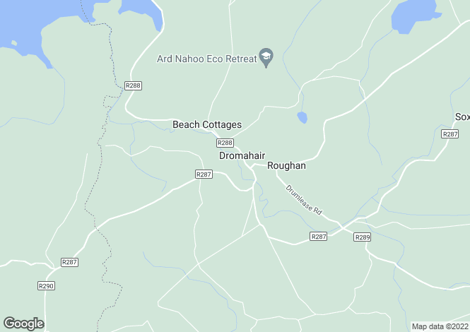 Map for Dromahair, Leitrim
