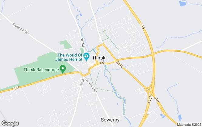 Map for Luke Miller & Associates, Thirsk Lettings