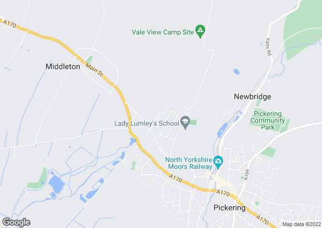 Map for Northway,