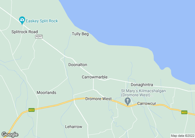 Map for Carrowmably, Dromore West, Co. Sligo