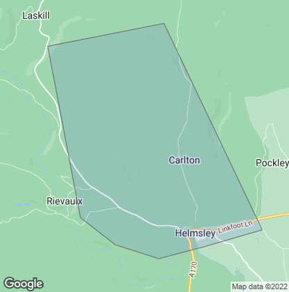 Map of property in Helmsley