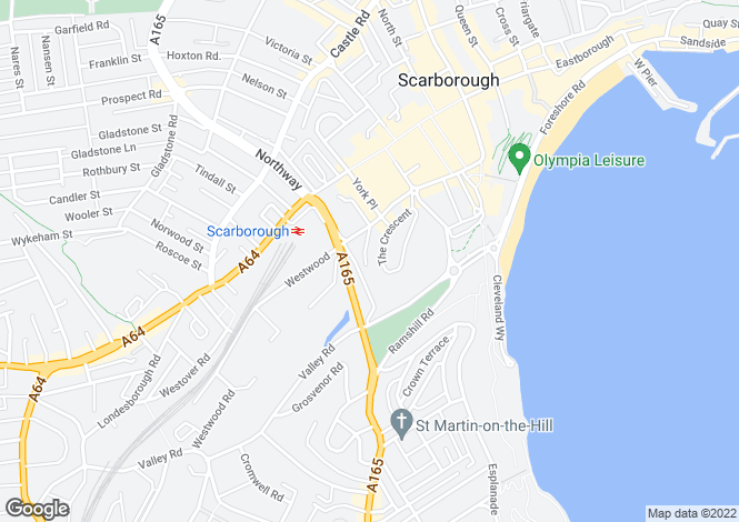 Map for The Crescent,