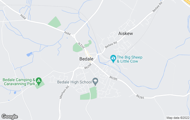 Map for Norman F. Brown, Bedale