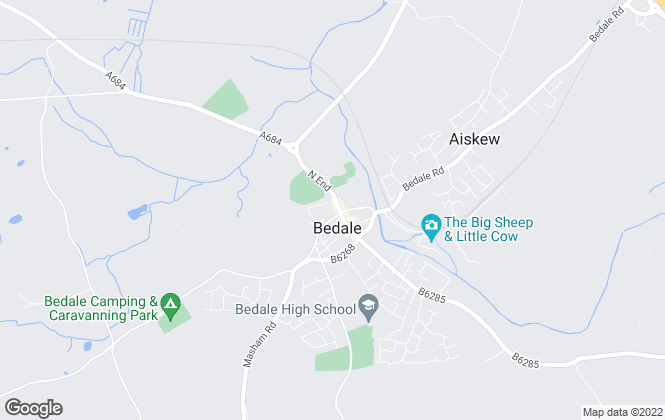 Map for Robin Jessop, Bedale