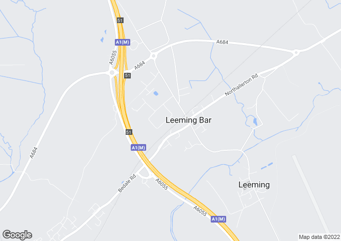Map for Unit 1, Plews Way, Leeming Bar Industrial Estate, NORTHALLERTON, North Yorkshire