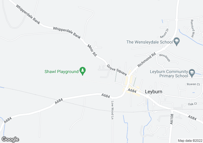 Map for 4 Riseber Lane, Leyburn