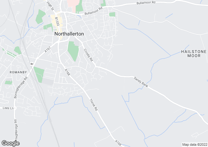 Map for Regency Court, Northallerton