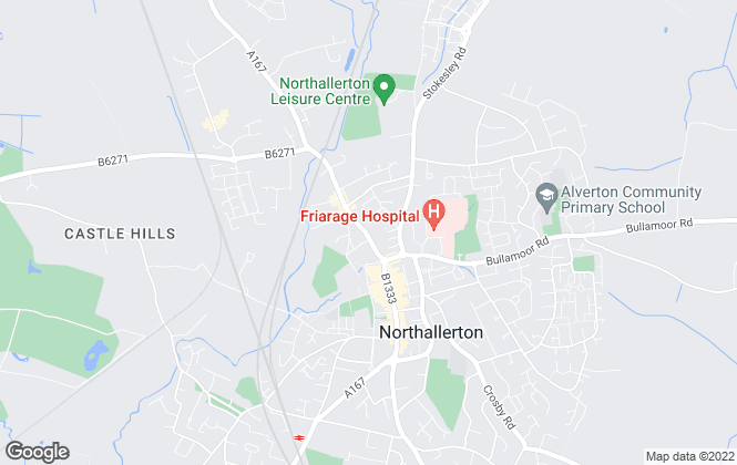 Map for James Winn Estate Agents, Northallerton