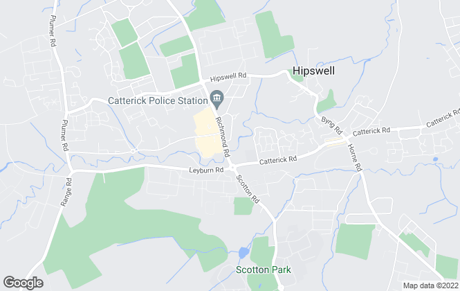 Map for Love Property, Catterick Garrison