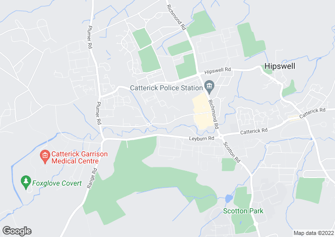 Map for Somerset Close, Catterick Garrison, North Yorkshire