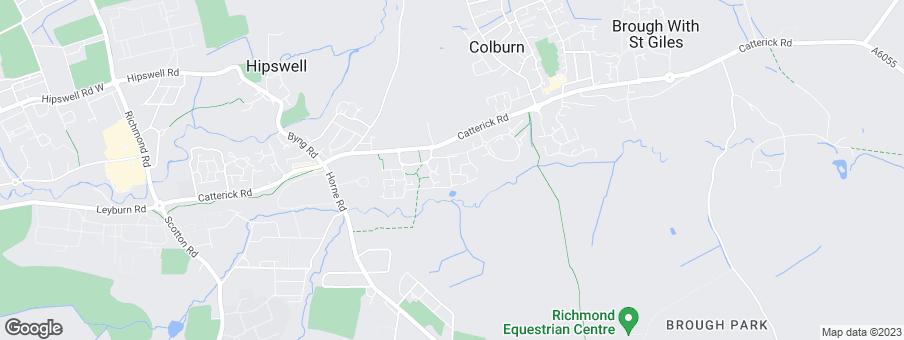 Map for Linden Homes West Yorkshire
