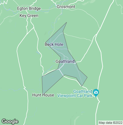 Map of property in Goathland