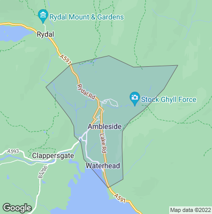 Map of property in Ambleside