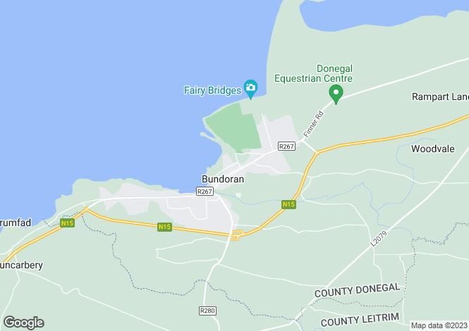 Map for 75 Atlantic Point , Bundoran, Donegal