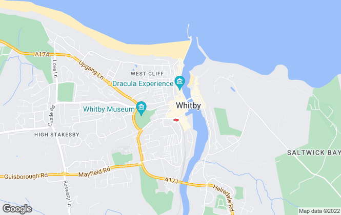 Map for Hope & Braim Estate Agents, Whitby