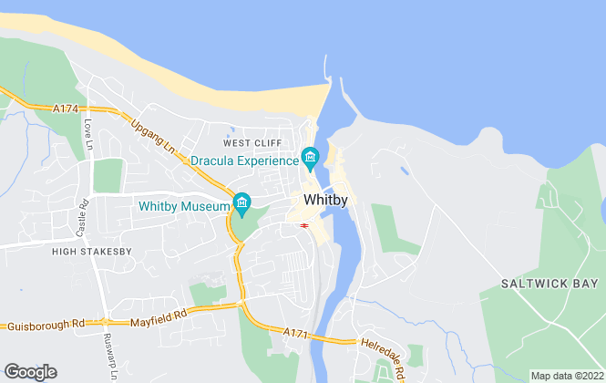 Map for Jacksons Property Service, Whitby